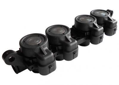 AEB 4 injectors rail CODE 238631000